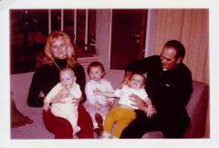 Mom Dad Connie Cindy John 1967