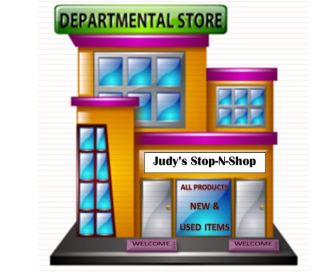Department store Revised Clip Art 002