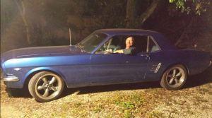 John_Blue Mustang