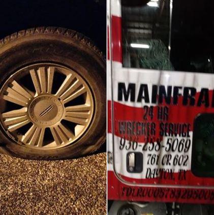 My flat tire